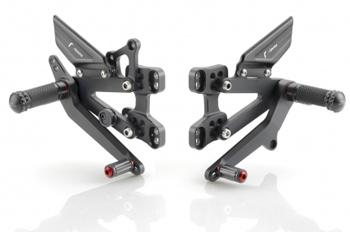 "Justerbara fotpinnar (Helt set) ""RRC"" Ducati Panigale  12 -"