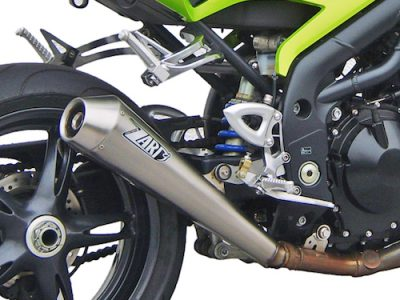 """SPEED TRIPLE 1050 M.Y. 05-06 Slip-on """"CONICIAL"""""""
