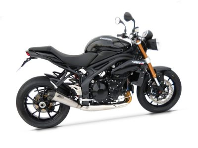 "SPEED TRIPLE 1050 M.Y. 2011 Slip-on ""CONICIAL"""