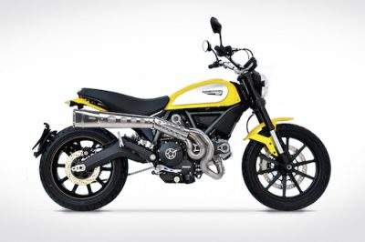 "DUCATI SCRAMBLER Helsystem ""Short version"""