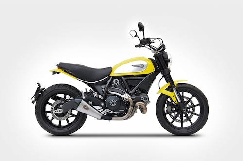 "Ducati Scrambler Slip-On ""LOW MOUNTED EDITION"""